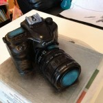 Canon EOS Cake, Starry Delights