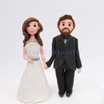 Bride and groom cake topper class