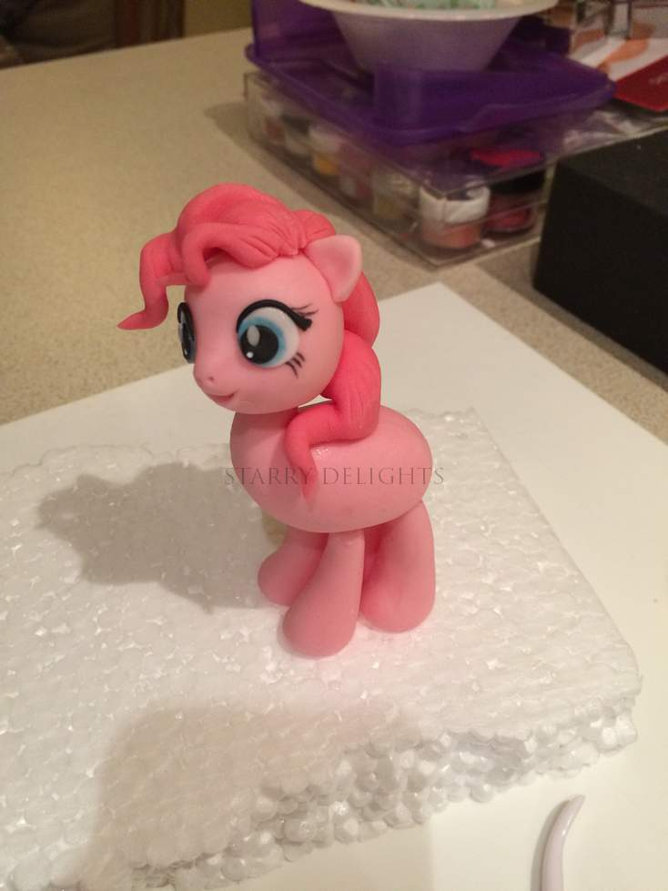 pinkie pie topper tutorial