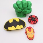 Superheroes cake toppers