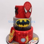 Superhero cake by Starry Delights Cake