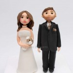 bride and groom cake toppers class