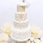 Lace Wedding Cake Newark, Lincoln, Nottingham