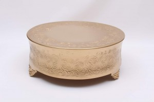 Gold Cake stand hire Newark, Lincoln, Nottingham