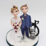 Bride and Groom cake figurines newark ,lincoln, nottingham