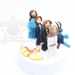 Beatles Cake Topper